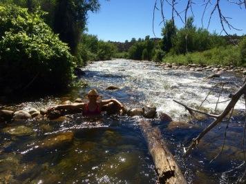 Ten Sleep Creek in Summer.